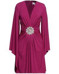 Forever Unique Short Dress - Purple