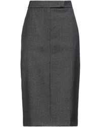 Max Mara 3/4 Length Skirt - Black