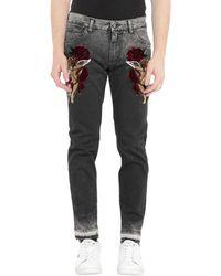 Dolce & Gabbana - Pantalon en jean - Lyst