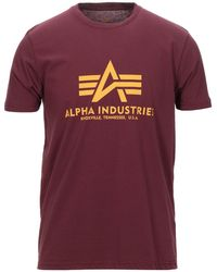 Alpha Industries T-shirt - Red