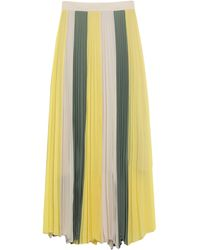 Annarita N. Long Skirt - Yellow