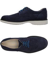 Hogan Chaussures à lacets - Bleu