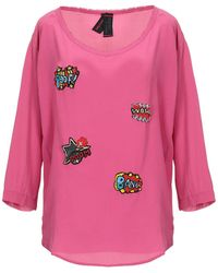 Femme By Michele Rossi Blusa - Rosa