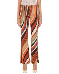 Maliparmi Casual Trousers - Multicolour