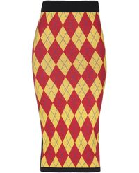 I'm Isola Marras 3/4 Length Skirt - Multicolour
