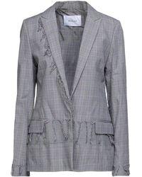 Aglini Suit Jacket - Gray