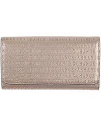 Armani Exchange Portafogli - Metallizzato