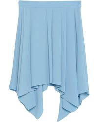 Patrizia Pepe Midi Skirt - Blue