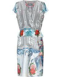 Piccione.piccione Knee-length Dress - White