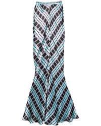 Duro Olowu Long Skirt - Blue
