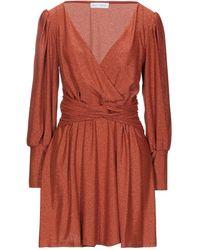 WEILI ZHENG Short Dress - Red