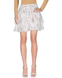 Dondup - Mini Skirts - Lyst