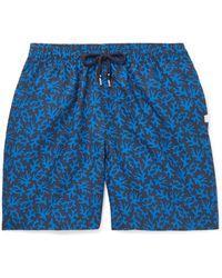 Derek Rose Swim Trunks - Blue