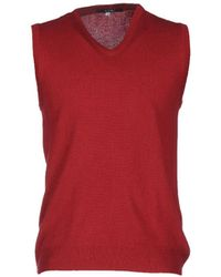 Pal Zileri Pullover - Rojo
