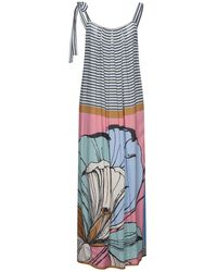 Suoli Long Dress - Blue