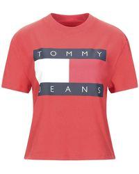 Tommy Hilfiger Camiseta - Rojo