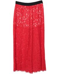 SCEE by TWINSET Trousers - Red