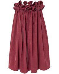 Nackiyé Midi Dress - Red