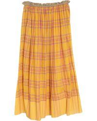 Péro Long Skirt - Yellow