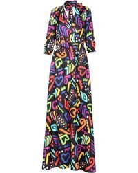 Boutique Moschino - Long Dress - Lyst