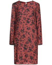 Hartford Short Dress - Brown