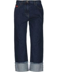 Gcds Denim Trousers - Blue