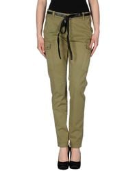 40weft Casual Trousers - Green