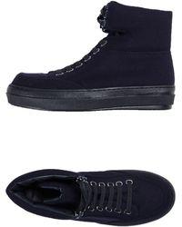 Jil Sander Navy High-tops & Sneakers - Black