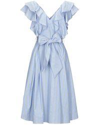 LE COEUR TWINSET Vestito longuette - Blu