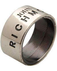 John Richmond - Ring - Lyst
