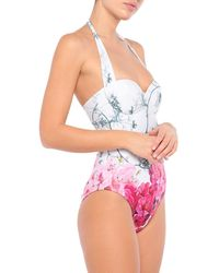 Ted Baker One-piece Swimsuit - White