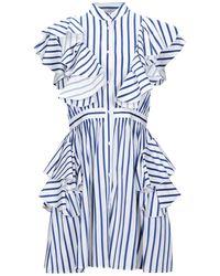 MSGM - Vestito corto - Lyst