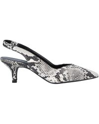 Janet & Janet Court Shoes - Grey