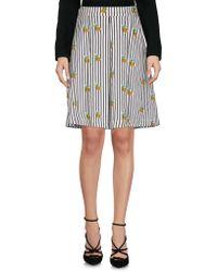 Louche - Knee Length Skirt - Lyst
