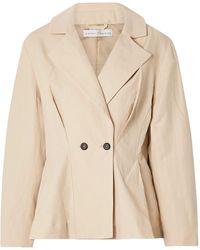 Palmer//Harding Suit Jacket - Natural