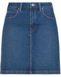 Lee Jeans Jupe en jean - Bleu