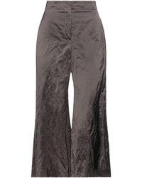 ODEEH Pantalone - Marrone