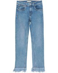 Maje Denim Trousers - Blue