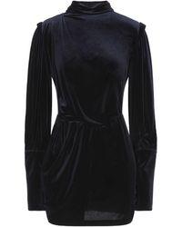 ACTUALEE Short Dress - Black
