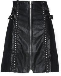 Odi Et Amo Midi Skirt - Black