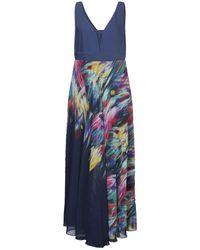 Edas Long Dress - Blue