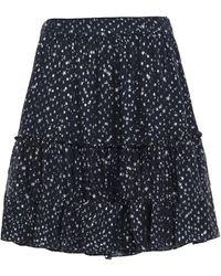 Kate Spade Knee Length Skirt - Blue