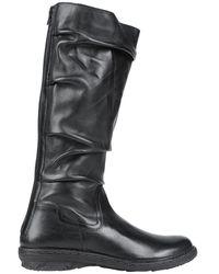Khrio Knee Boots - Black