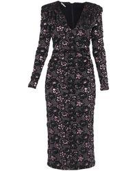 Miu Miu Midi Dress - Black