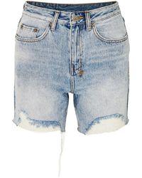 Ksubi Denim Shorts - Blue
