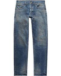 Fabric-Brand & Co. Denim Pants - Blue