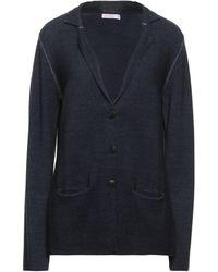Sun 68 Suit Jacket - Blue