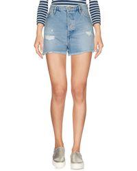 2W2M Denim Shorts - Blue
