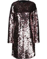 McQ Short Dress - Metallic