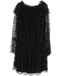 Ermanno Scervino Short Dress - Black